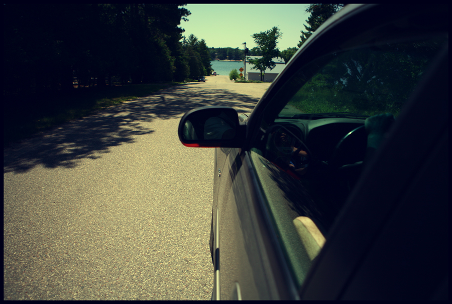Arriving at Pleasant Lake, WI